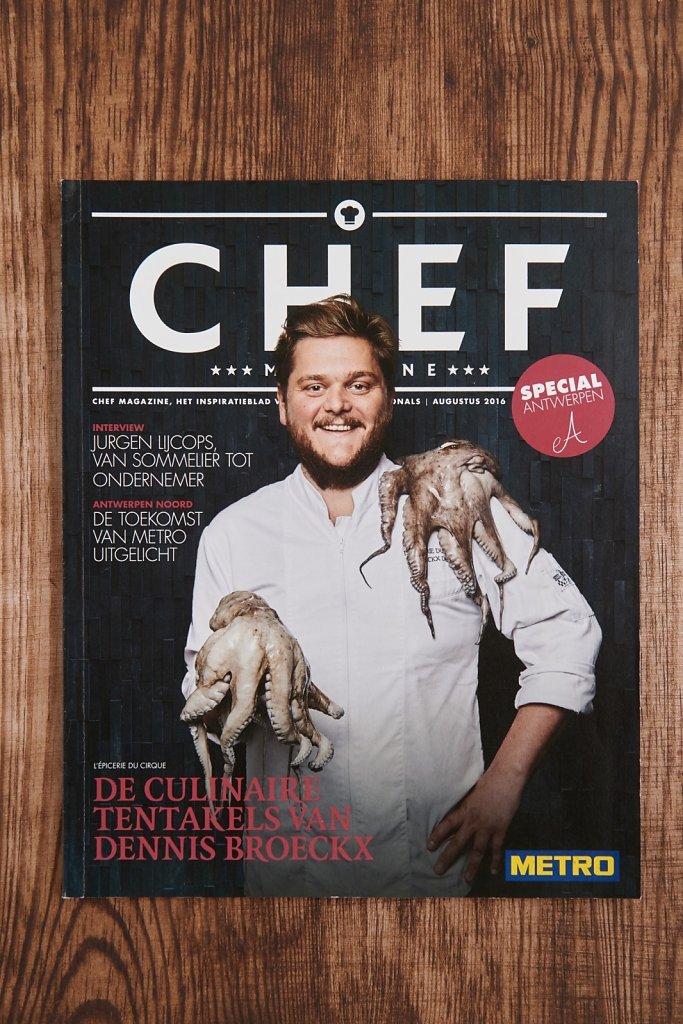 Cover Magazine Chef