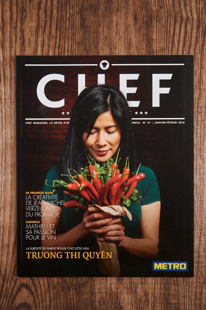 Cover Magazine Chef