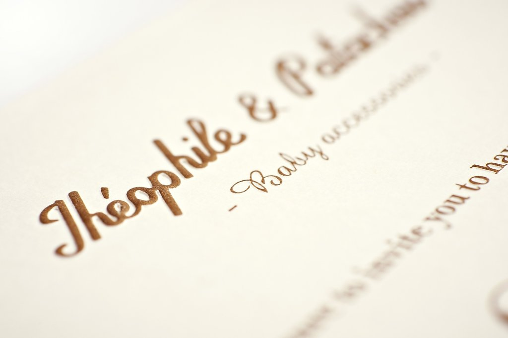Invitations Théophile & Patachou